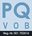 Logo Präqualifikation von Bauunternehmen